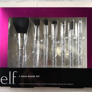 NWT Elf Cosmetics 7 Piece Brush Set